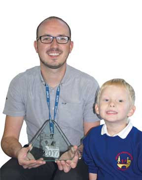 Image for Accolade for Inspirational Teacher