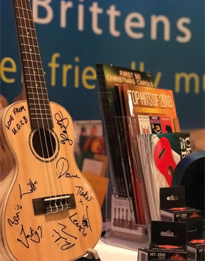 Image for Brittens Music, Tunbridge Wells, Raises More Than £200 For Charity