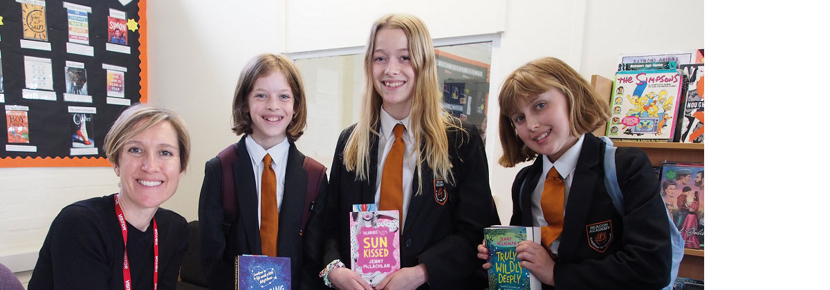 Image for Celebrated author captivates young imaginations in Crowborough