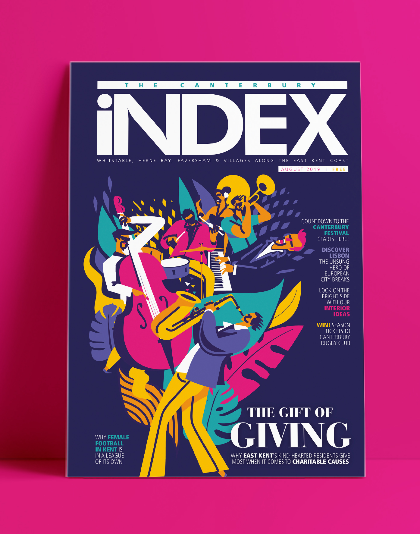 Image for The Canterbury INDEX - August 2019