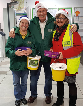 Canterbury Food Bank Set For Winter Challenges