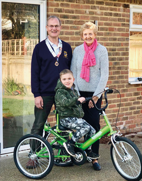 Image for Connor From Hildenborough Gets His Wheels