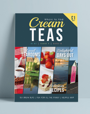 Image for The Cream Teas Guide - 2017