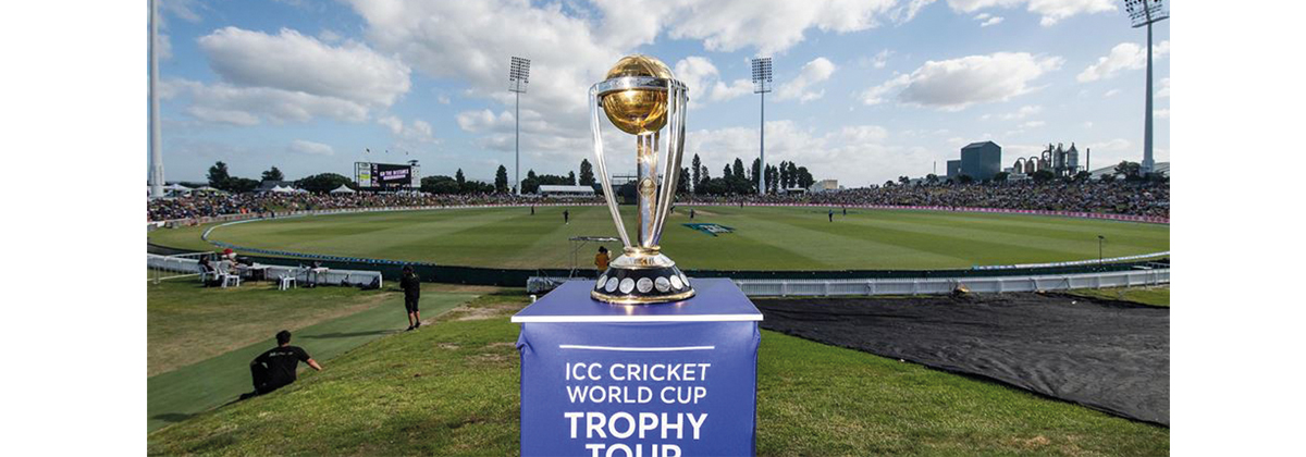 Image for World Cup Cricket Trophy To Visit Canterbury