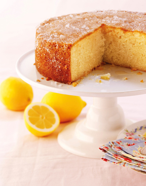 Image for Recipe: Elderflower and Lemon Drizzle Cake