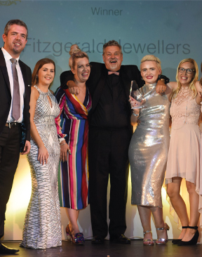 Fitzgeralds Jewellers Win National Award