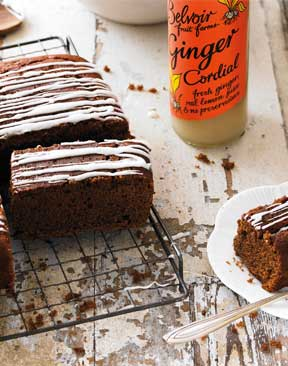 Image for Recipe: Gingerbread with Ginger and Orange Drizzle