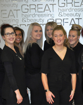 GET 50% OFF AT GREAT HAIRDRESSING & BEAUTY!