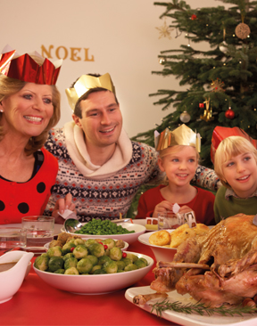 Image for Hidden Health Benefits of a Christmas Dinner