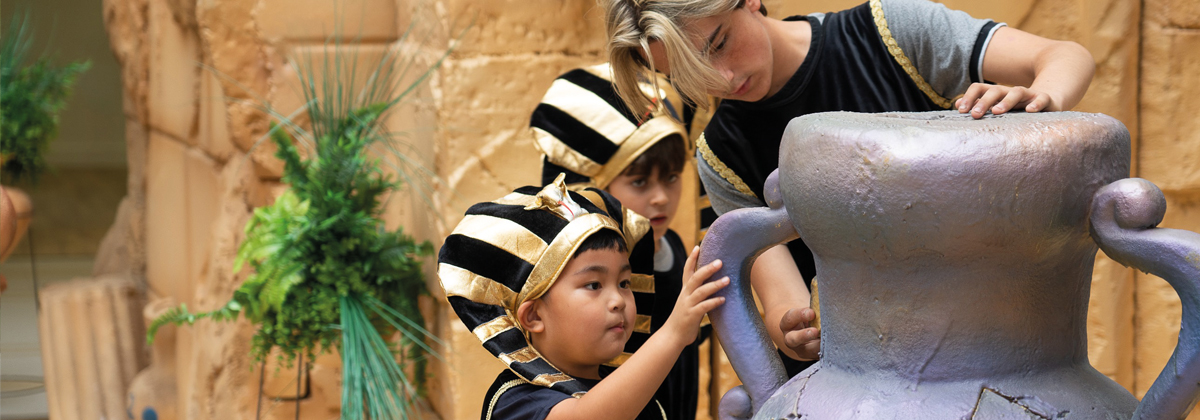 Image for Kids in Pyramids at Royal Victoria Place, Tunbridge Wells