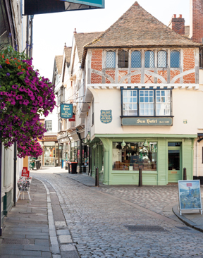 Image for King's Mile, Canterbury: A Regal Reception from City Traders