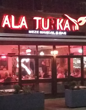 Image for Restaurant Review: A La Turka, Canterbury