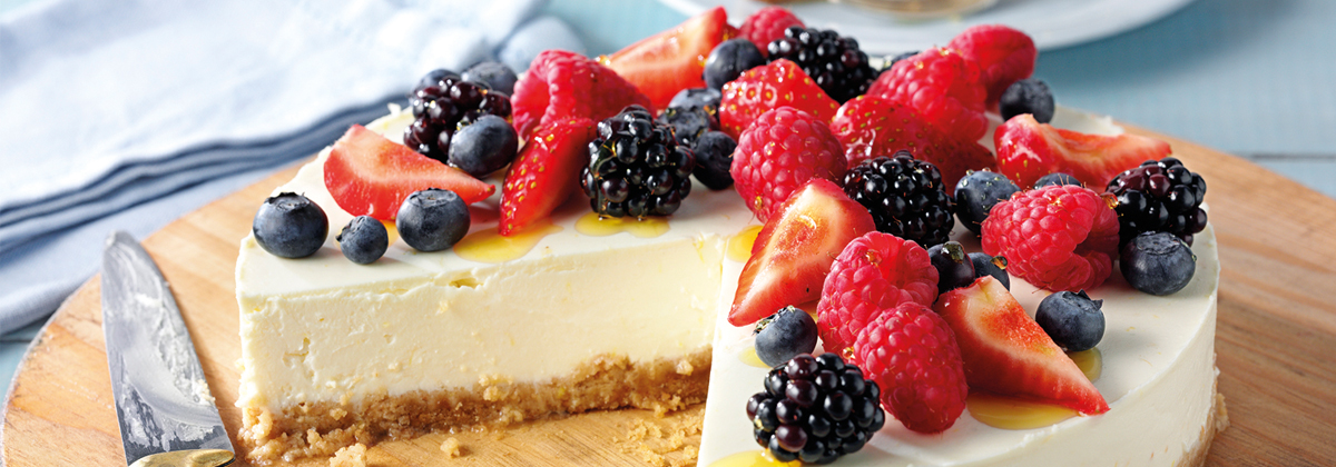 Image for Recipe: Lemon Cheesecake
