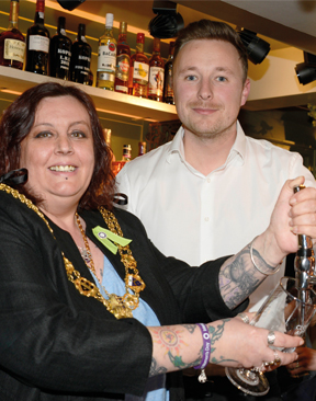 Image for Mayor Opens New Look Marquis of Granby