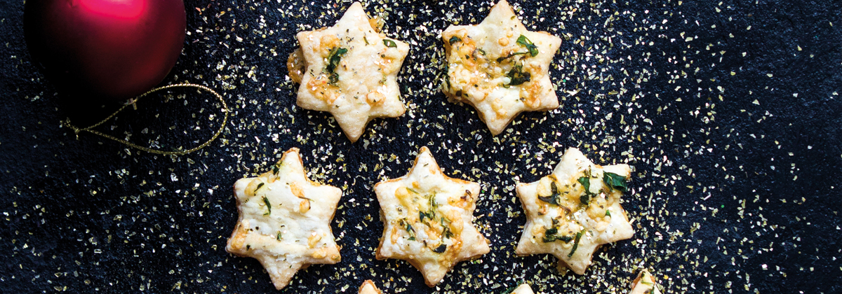 Image for Recipe: Cheesy Stars