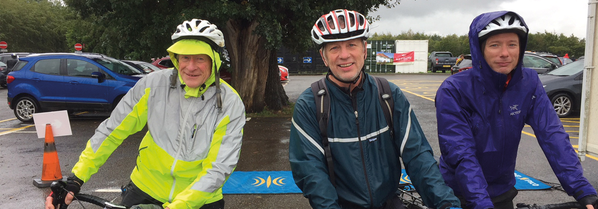 Image for Riders Brave the Elements for the 5th Canterbury Bike Ride