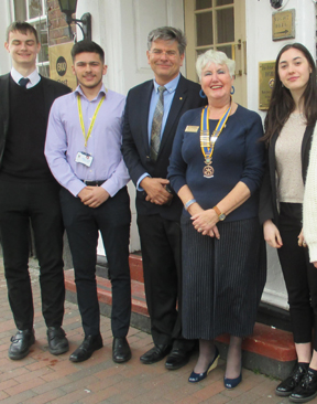 Image for Rotarians Invite Tonbridge School Leavers To Lunch