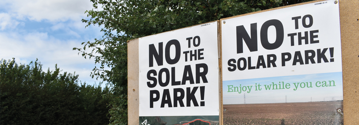 Image for Solar Park Feedback Reveals Major Concerns