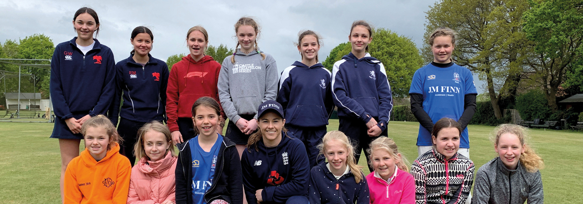 Image for Cricketer Tammy Beaumont opens junior's season