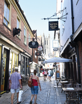The Cathedral Quarter: Canterbury's Hidden Gem