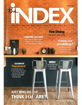 Image for The INDEX Magazine - August 2017