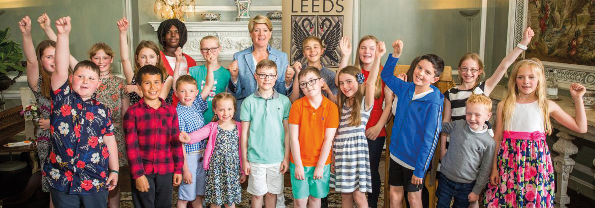 Image for Budding Young Writers Honoured At Leeds Castle