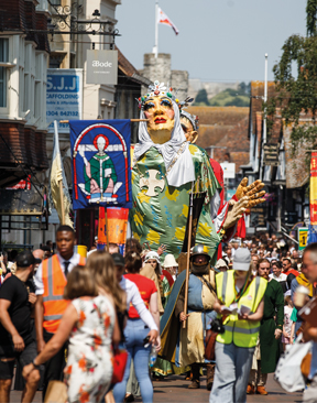Make a date for Canterbury's colourful parade